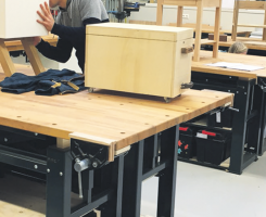 Workshop Bench introductie op vakschool